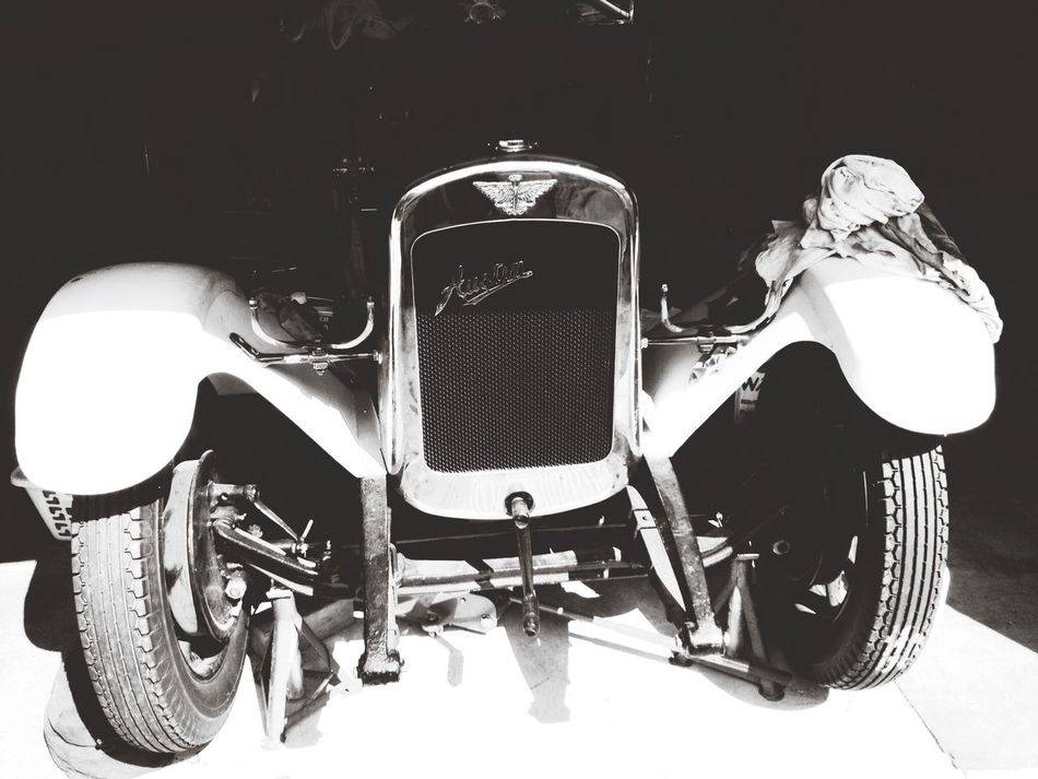 Vintage Cars Black And White