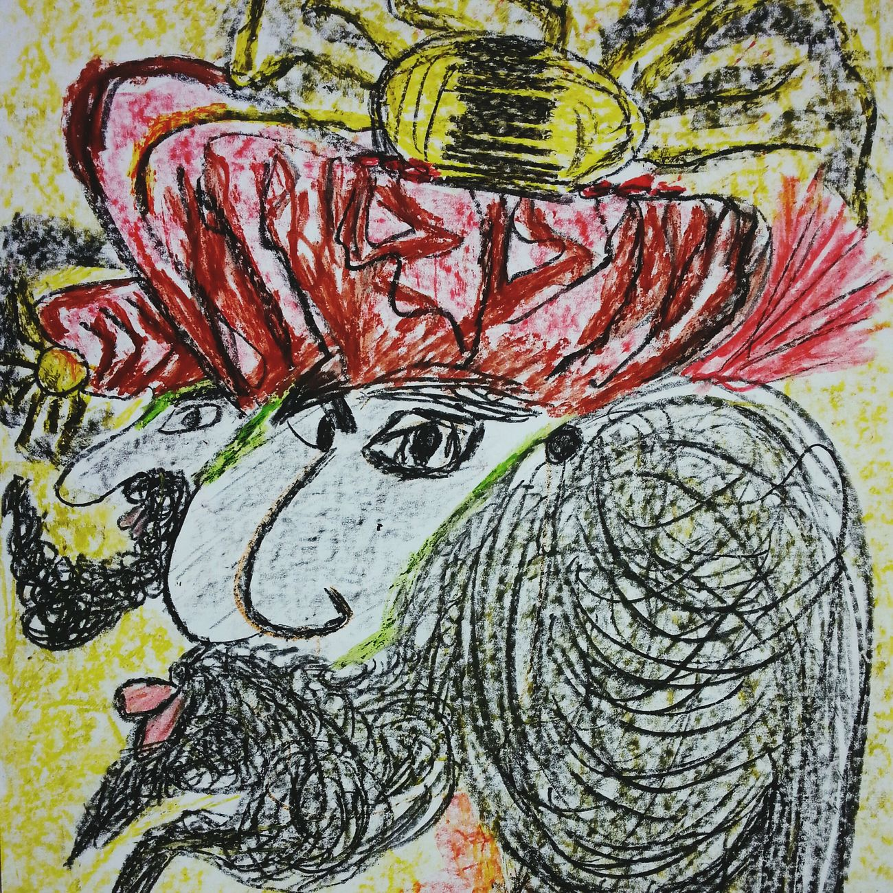 Abstractart Spirituality Drawn By Me My Art, My Soul... Intuitiveart See The Light Art World Drawing Art, Drawing, Creativity Warming The Soul SoulArt Artworks Drawingart ArtWork Intuitive Art My Artistic Style Art Gallery Spiritualguidence