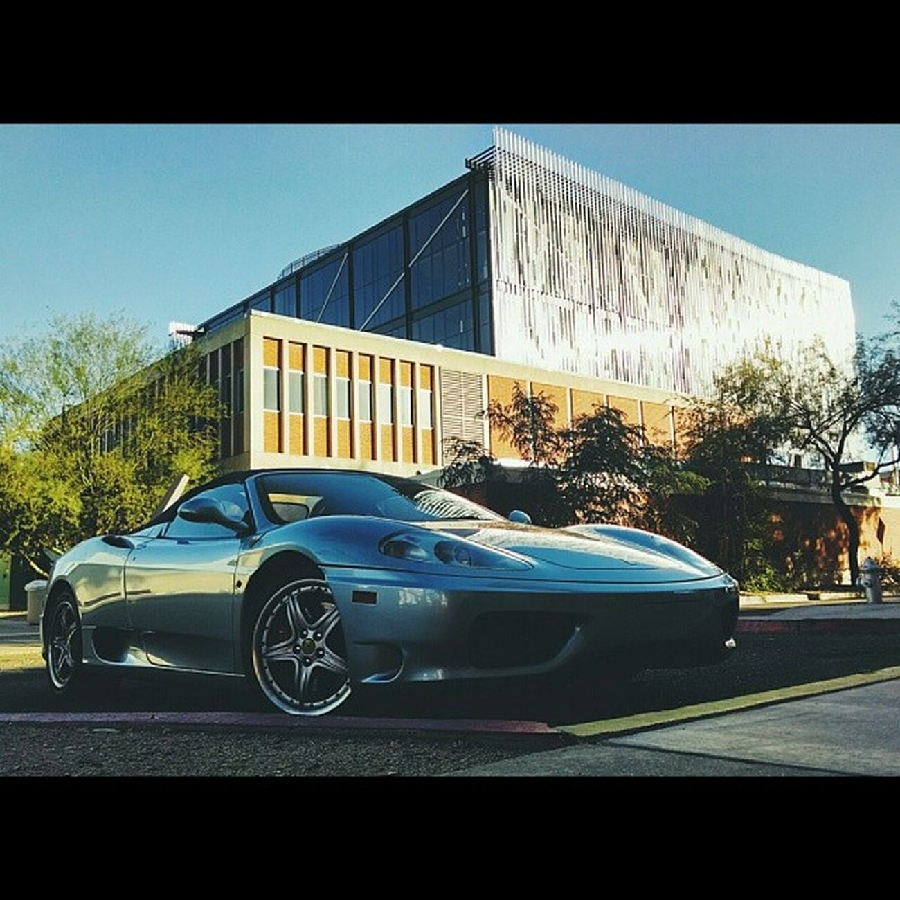 Lately, I've been, I've been losing sleep... Ferrari VSCO