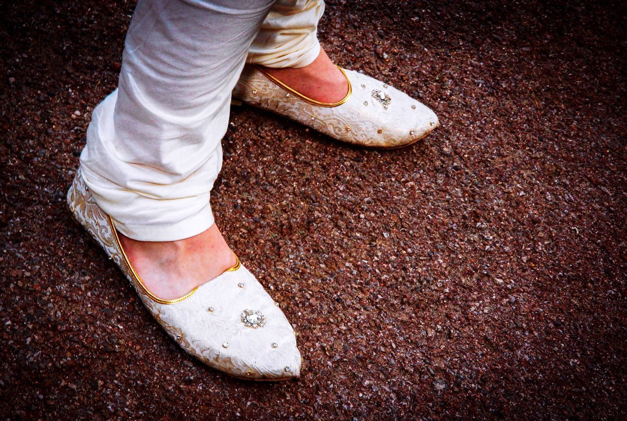 Feet Shoes Man Male Indian Indian Wedding Wedding Wedding Photography Close-up Selective Focus EyeEm Tradition Clothing White