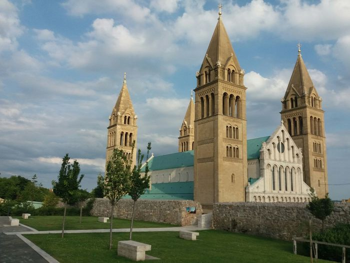Hungary Church Catedral Architecture Cloud - Sky No People Sky Day Tree Outdoors