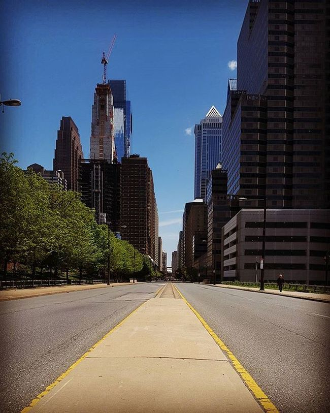 Where will your road in life lead...? Streetphotography Philly Centercityphilly Philadelphia InstaTags4Likes Centercity Photographer People Spring Art Artsy Artist