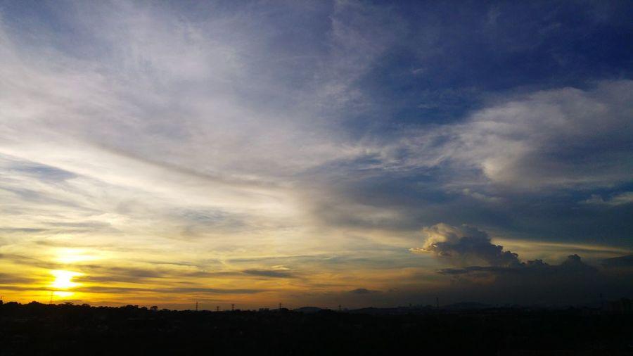 Sunset Landscape Dramatic Sky Beauty In Nature Sky Nature Landscape_photography Landscapes The Great Outdoors - 2017 EyeEm Awards Bangi Bandarbarubangi