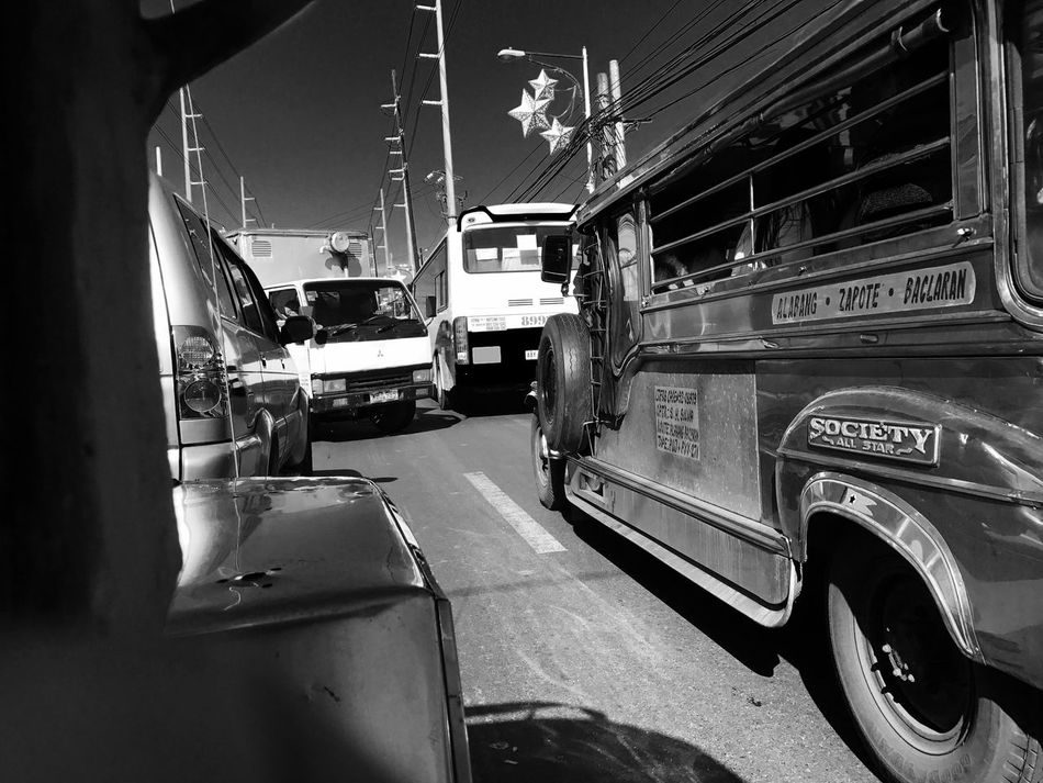 Transportation Traffic Jam EyeemPhilippines Eyeem Philippines Land Vehicle Mode Of Transport Laspinas Las Piñas City