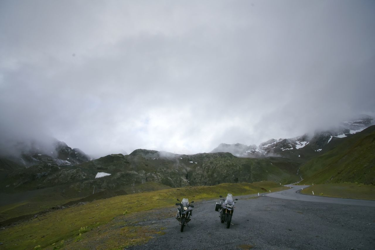 Adventure Austria Bmw Motorcycle Cloud Cloud - Sky Cloudy Composition Hairpin Landscape Majestic Outdoors Perspective R1200gs Roadtrip Sky Trip Valley