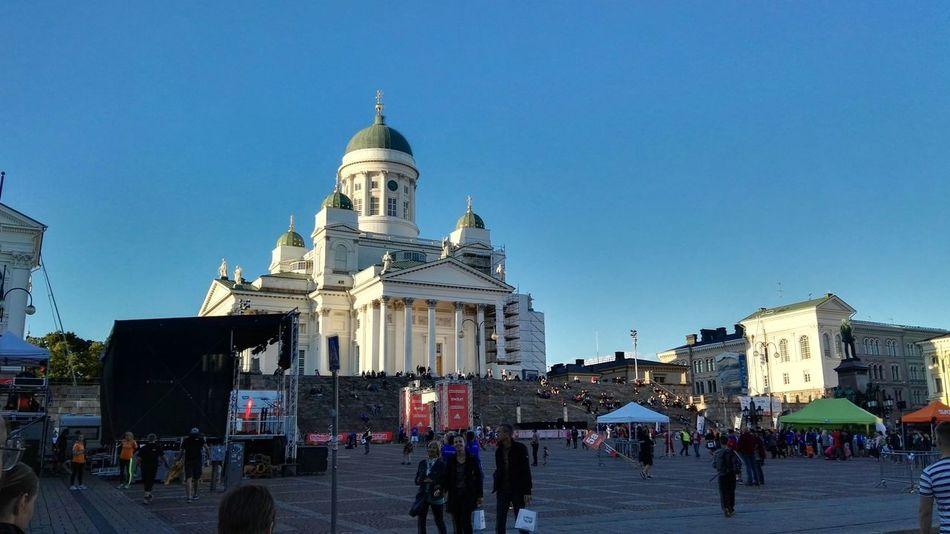 Finland Helsinki Hello World Architecture Building Sightseeing View