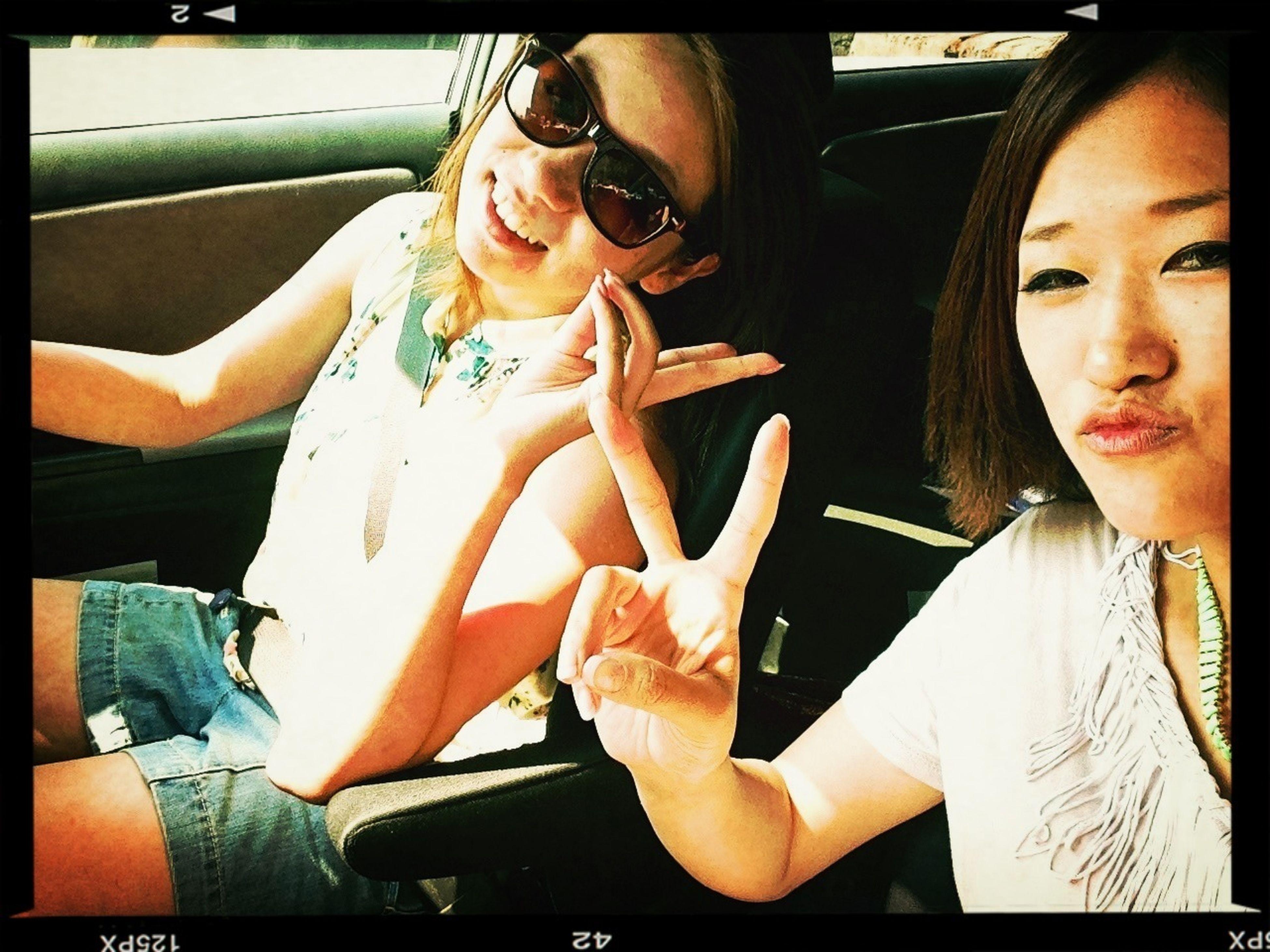 宇野港行きフェリーにて。 Going On A Ferry Ride Driving Love Her