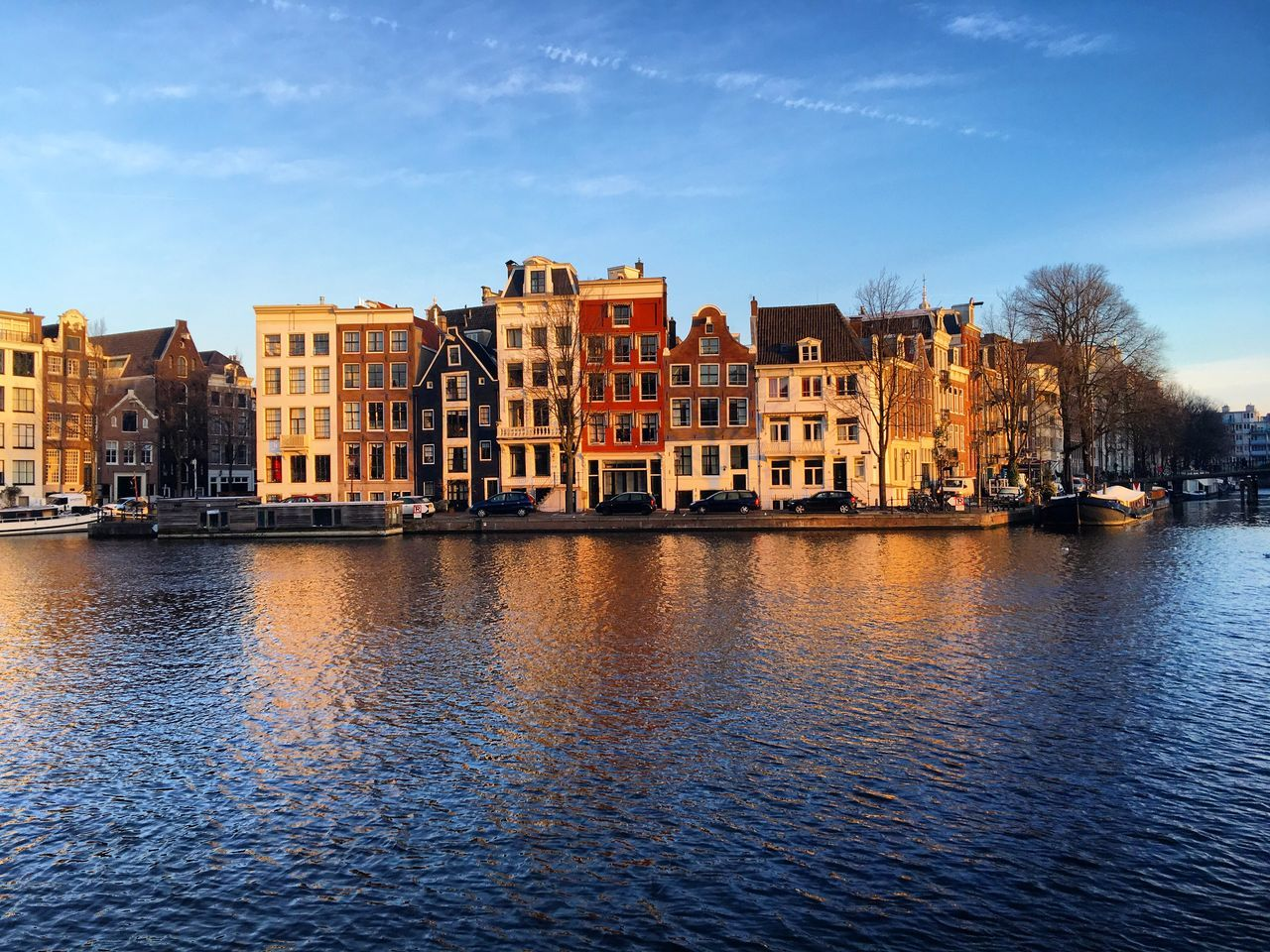 Beautiful stock photos of amsterdam, Amstel River, Amsterdam, Architecture, Building