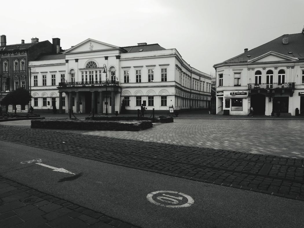 Architecture Building Exterior Outdoors City Built Structure No People Sky Day Košice Center