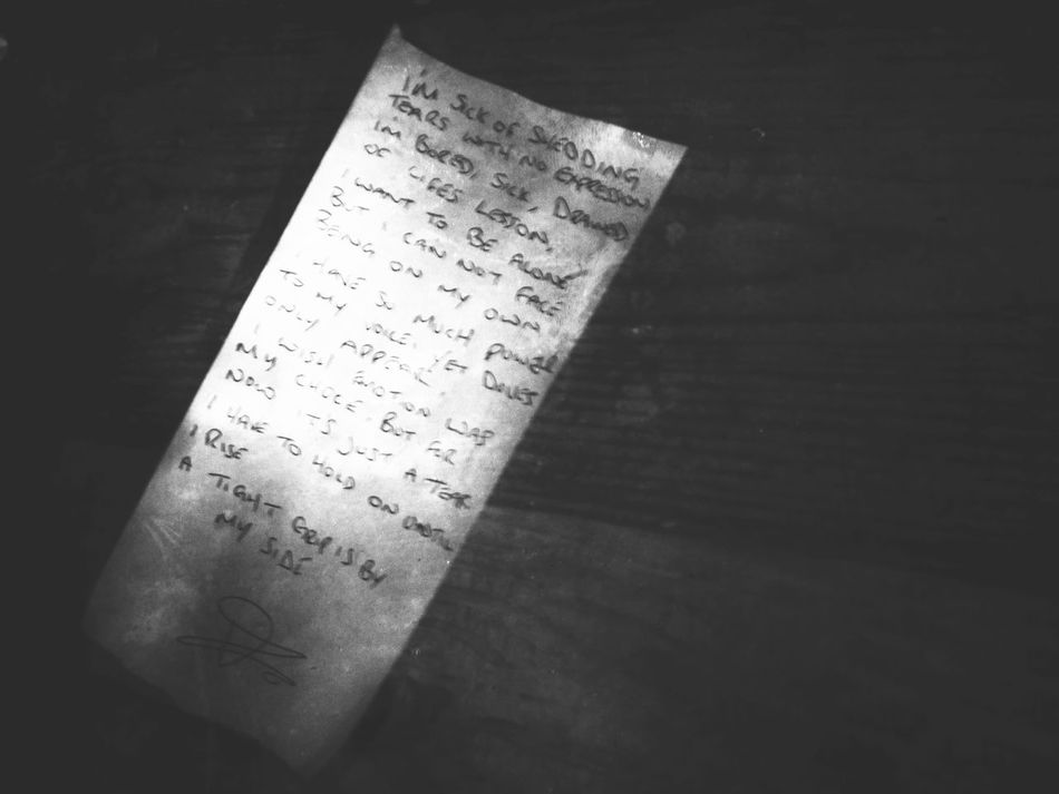 A Poem Single Object Close-up Table No People Poetry Poem Poetry In Pictures Poetrycommunity Poeticimage Manchester Paper Tabletop Writing Words