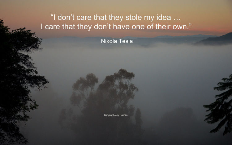 These days are coming back. Misty dawn shot in #Fallbrook and a #quote by #NikolaTesla. If this #quotograph speaks to you, please share with others California Day Fall Fallbrook M Q Quotograph Tesla