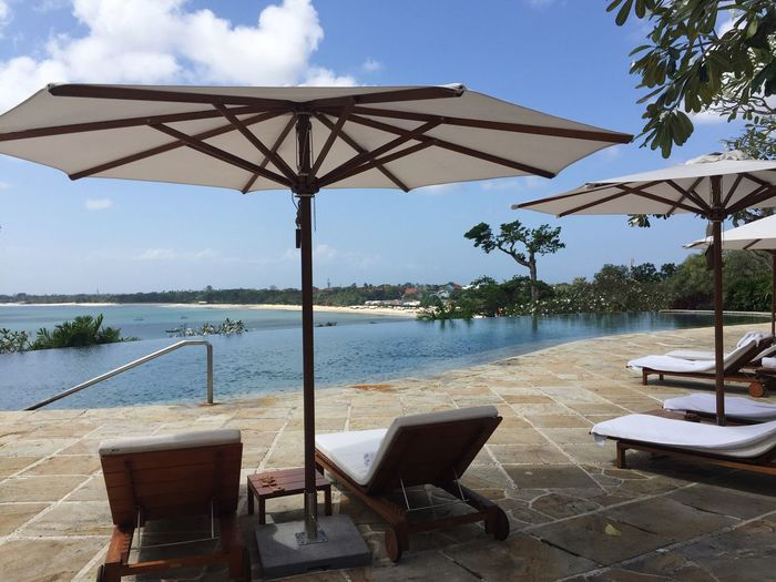 Sea Swimming Pool Water Chair Luxury Sky Traveling Travel Photography Beach Vacation Bali