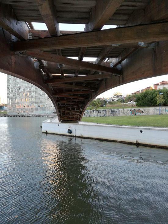 Aveiro Aveiro, Portugal Bridge - Man Made Structure Water Built Structure Architecture River Smatrphonephotography