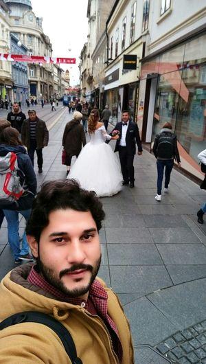 Ilica Street Marraige Random People Happylife Happy Couple Myself