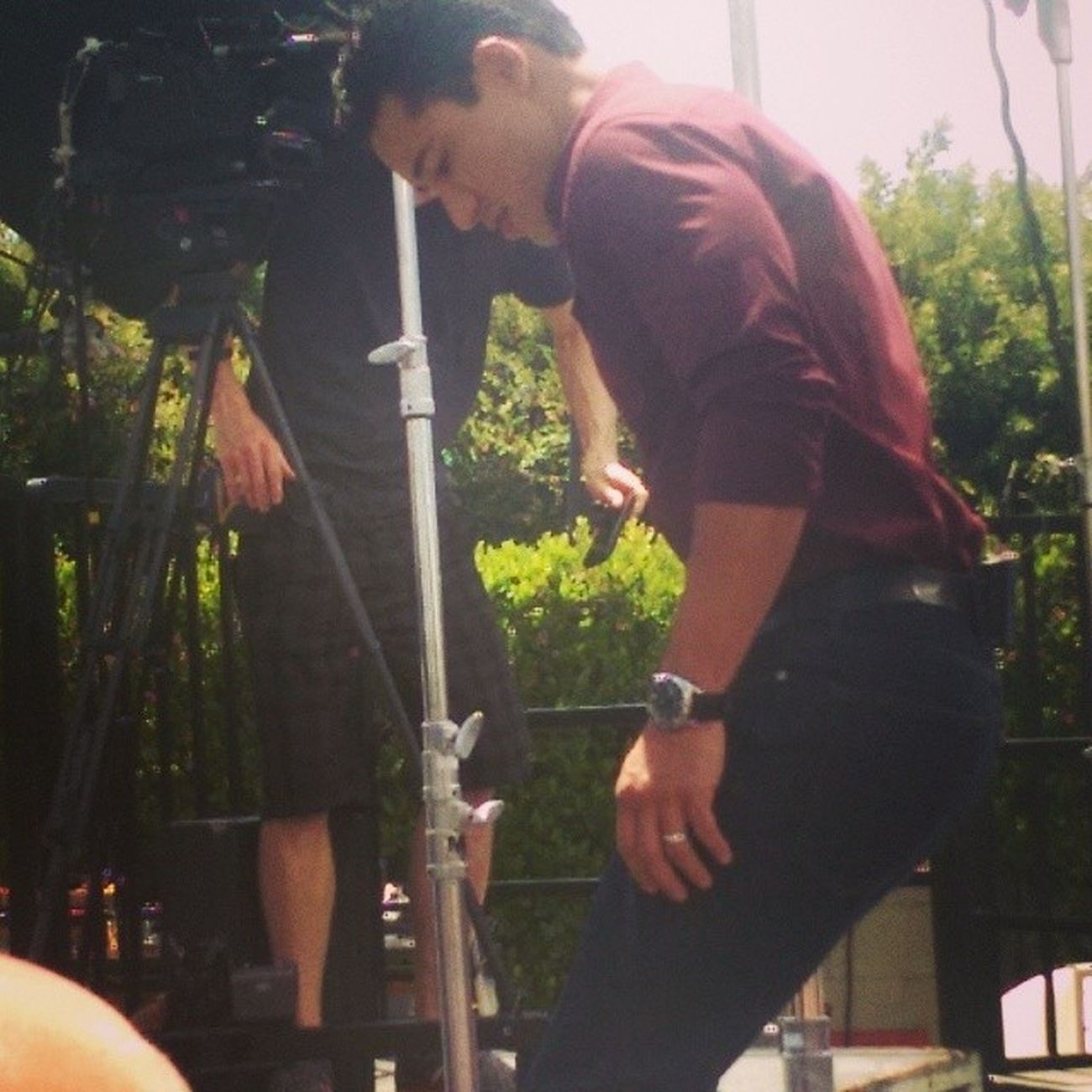 I saw Mario Lopez yesterday... Extratv