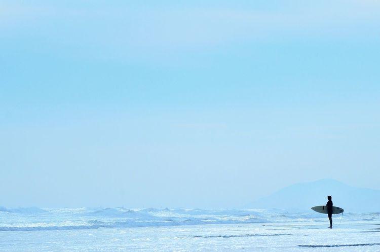 Sea Water Day Blue Clear Sky Beach Surfing Sky Cloud - Sky EyeEm Best Shots The Week On EyeEm Mypointofview Colors Minimalism EyeEm Best Shots - Landscape EyeEm Gallery Creative Light And Shadow EyeEm Best Edits Light And Shadow Getting Inspired Silhouette