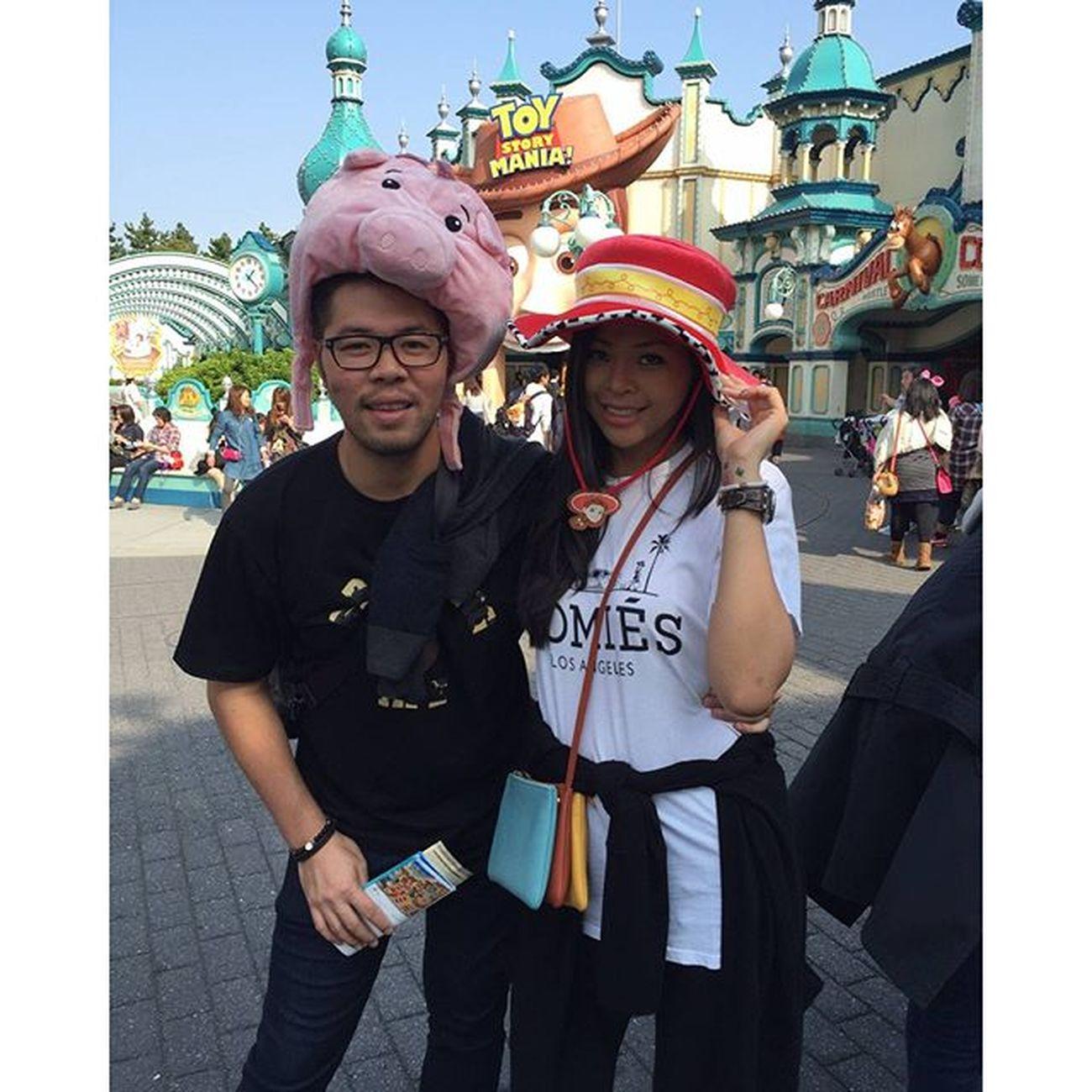 Toystory Woody Piggy Cowgirl @angela.arifin 😍😛😙
