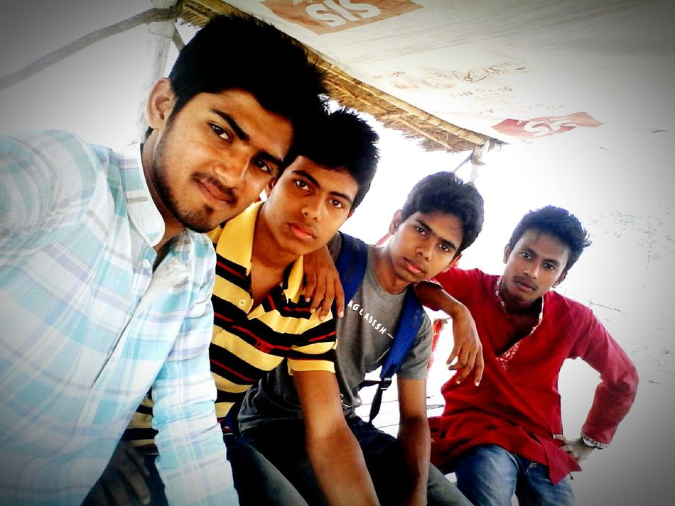 With Friends.... ;)