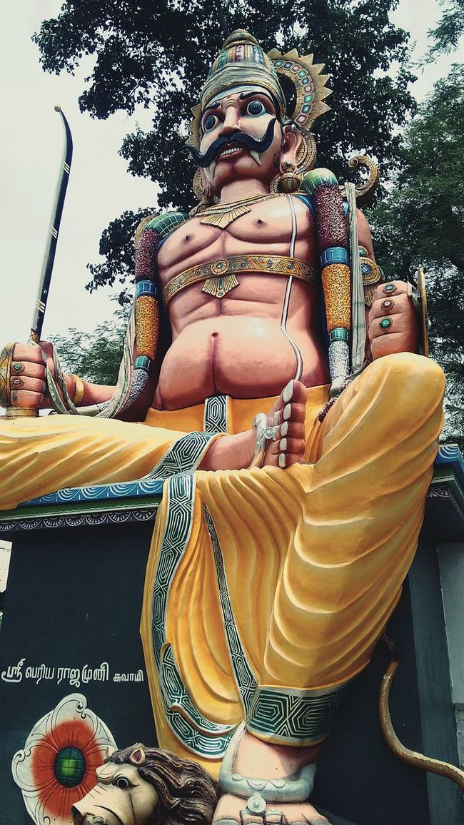 Guardian.... Dravidian Culture Dravidian Gods God Gods Guardian Guardian Deity Of Tamils Tamil Culture Tamil Gods Temple - Building Dravidian Indian Gods India Statue Statues Gods Collection Colours Of God