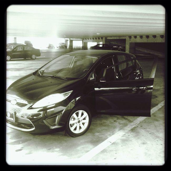 My new car. Ford Fiesta New Car