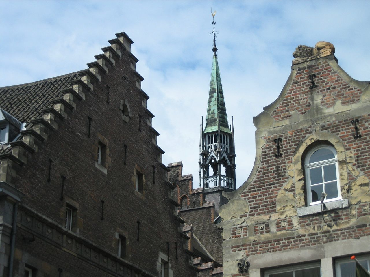 Maastricht - one of the most beautiful cities in Holand (from my point of view). Architecture Building Exterior Built Structure Cultural Center Day Dutch Architecture Dutch Cities Historic Center Of The City Holland Sky My Favorite Place