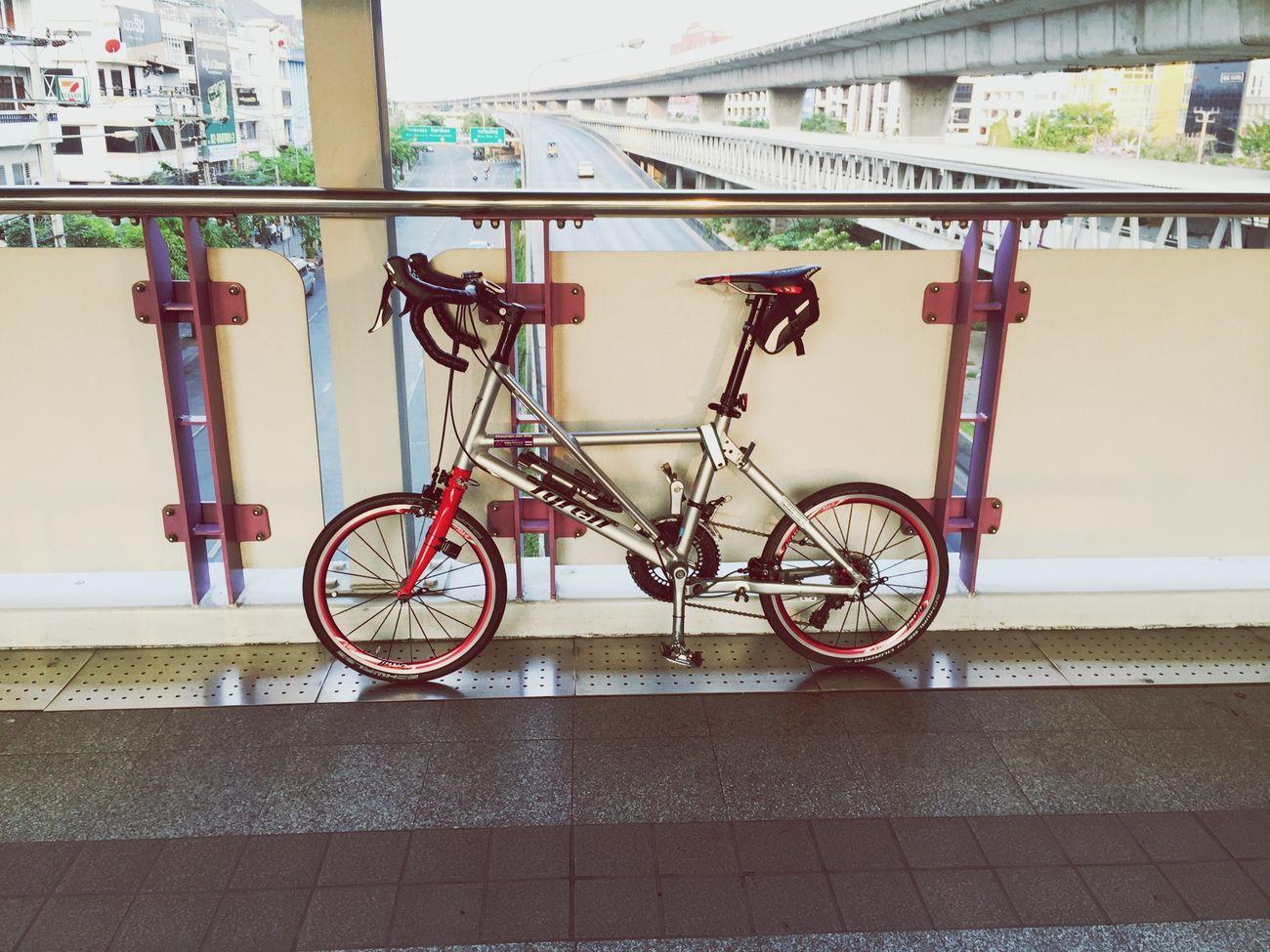เช้านี้ที่วงเวียนใหญ่ Myactivity  Relaxing Enjoying Life Cycling TyrellFX Tyrellthailand Bicycle