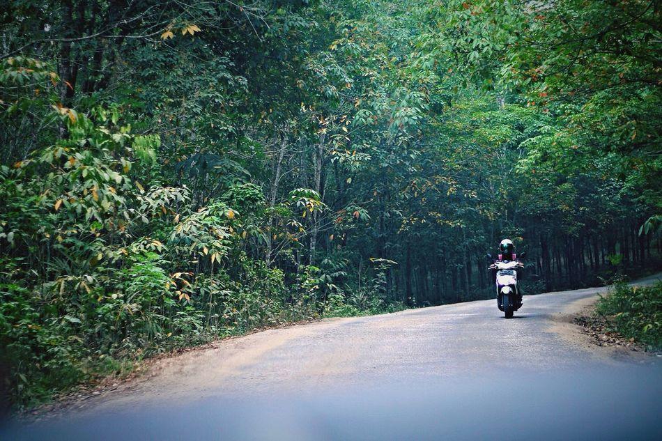 Motor Bike Taking Photos Enjoying Life Feel The Journey