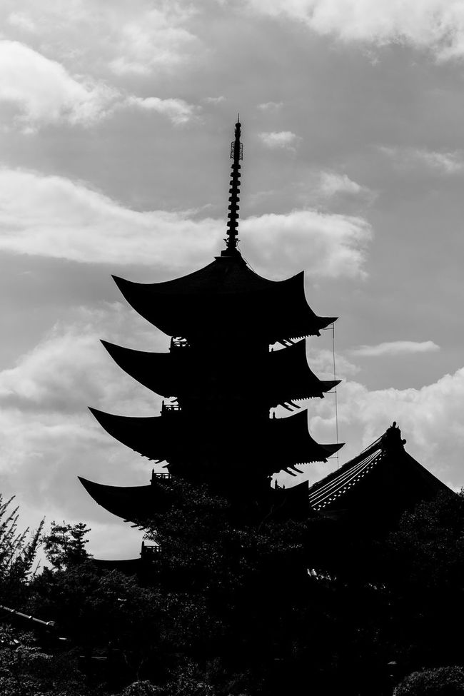 Ancient Architectural Feature Architecture Building Exterior Built Structure Cloud - Sky Culture Day Famous Place History Low Angle View Nature No People Outdoors Pagoda Place Of Worship Plant Religion Sky Spire  Spirituality Temple - Building Tourism Tranquility Travel Destinations
