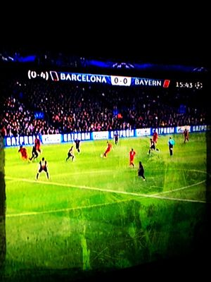 what we do... at watching Championsleague Semifinal! by iPat