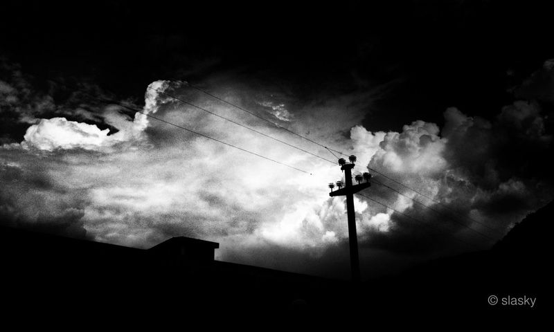 Blackandwhite Sky_collection Black And Less White Sky + Lines