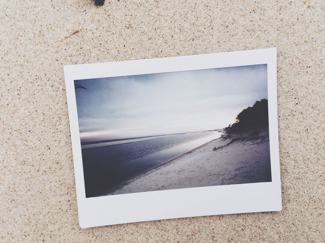 Photography Fuji Instax Vacation Time Clouds And Sky Instax Picoftheday Nature Instax210 Beach Igersuruguay Polaroid Love ♥