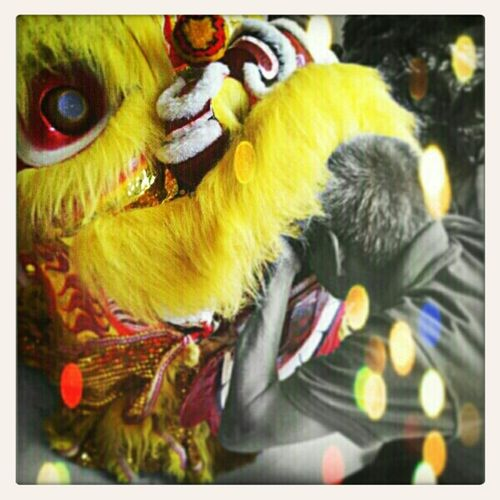 Taking Pictures Catching A Show Gong Xi Fa Cai Chineese New Year 2013