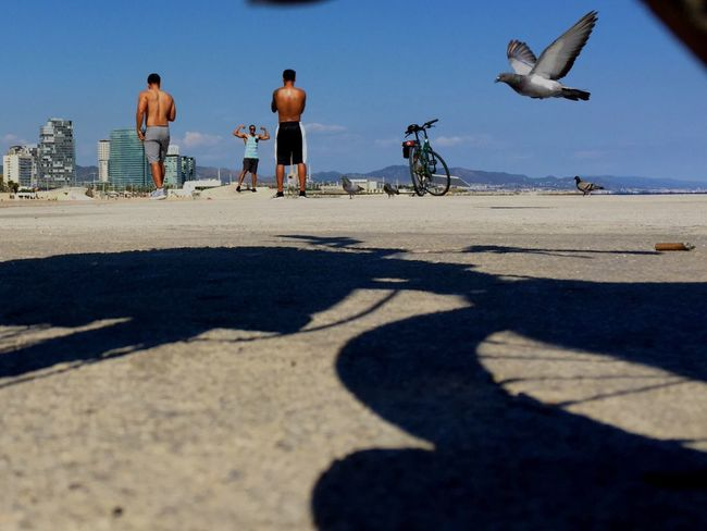 Cityscapes On The Beach Barcelona EyeEm Best Shots Eye4photography  Streetphotography
