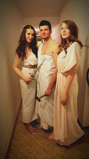 Gods Olympus Play Afrodite Nemesis Czech Beauty Boy Girl Friends Antique