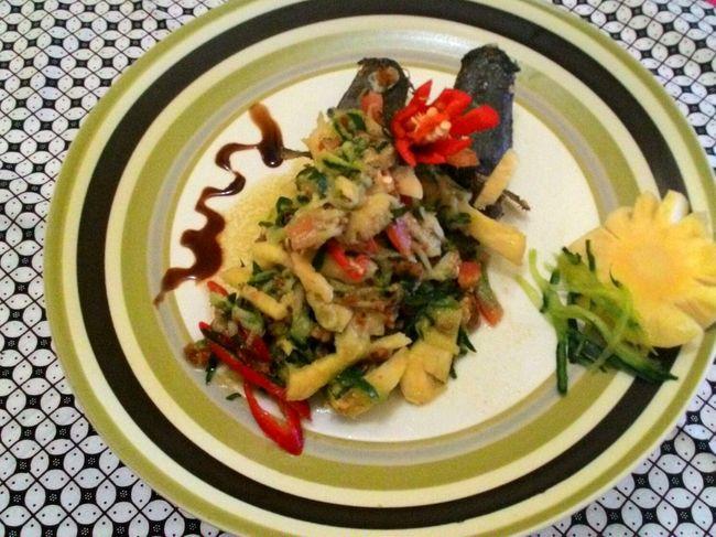 Catfish Pineaple , Catfish Salad Food Freshness Meal Ready-to-eat First Eyeem Photo