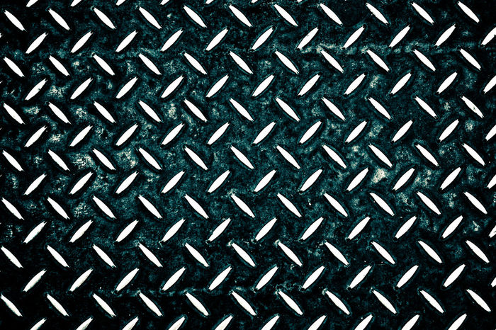 Diamonds EyeEm Ready   Backgrounds Brushed Metal Close-up Day Diamond Plate Full Frame Indoors  Metal No People Pattern Repetition Seamless Pattern Textured