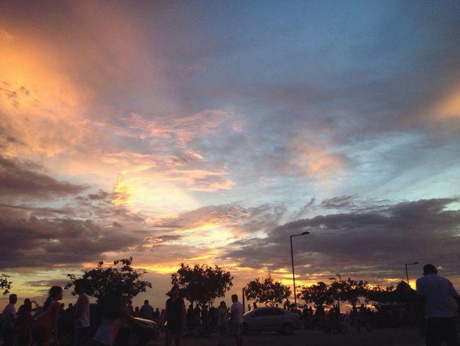 Street Light Sunset Cloud Sky Outdoors Brazil