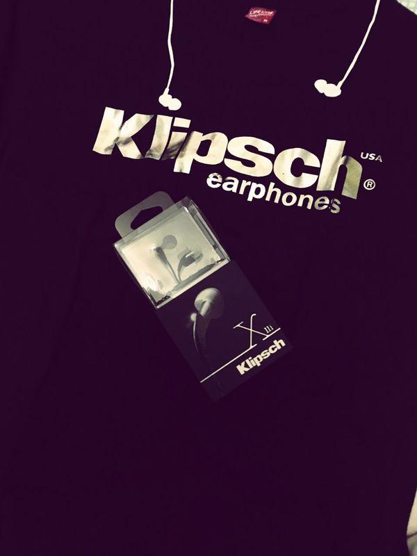 My Love Earphone Earbuds KLIPSCH Happy Music Is My Life Taking Photos
