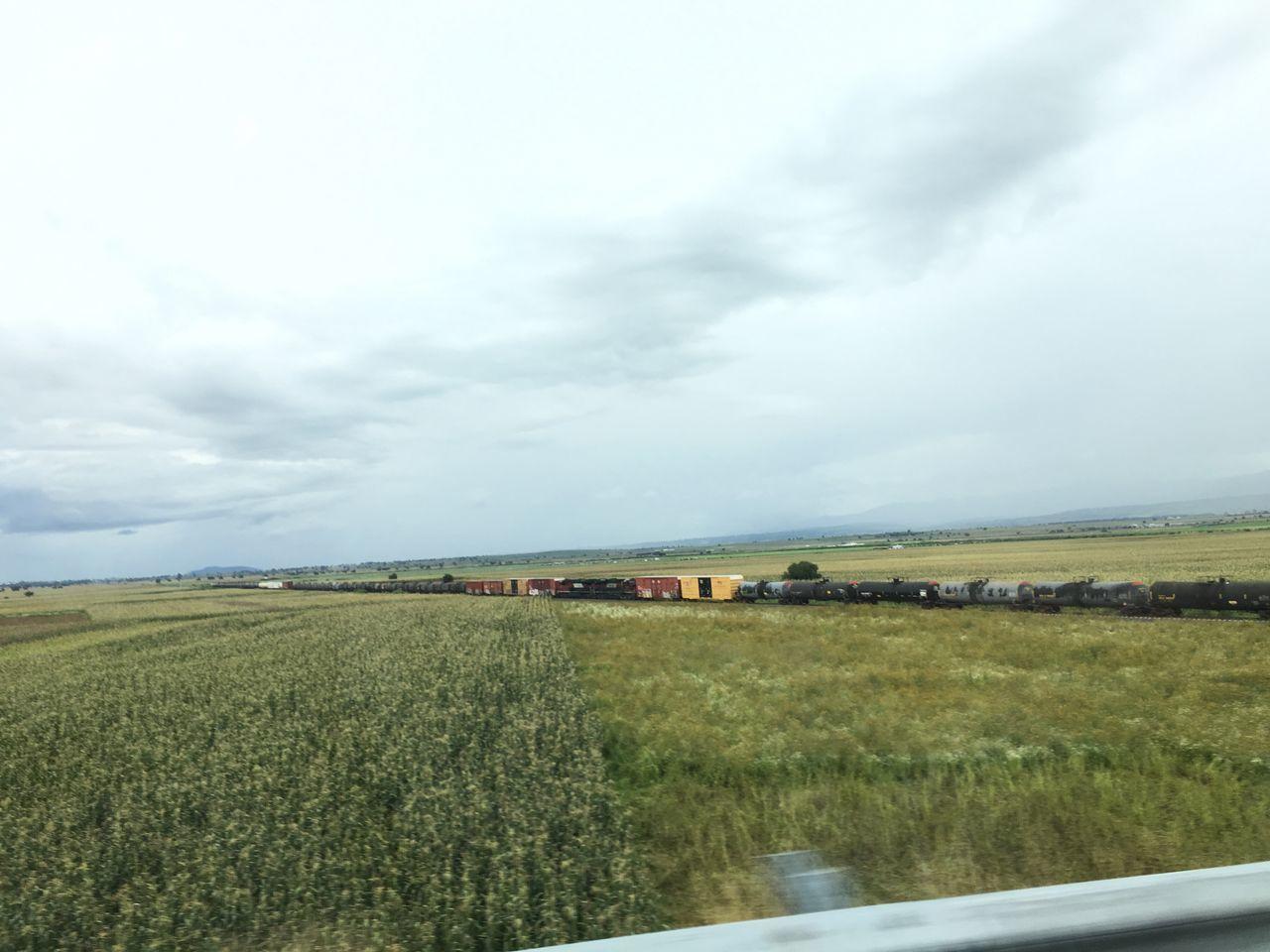 La Bestia Landscape Cornfield Trains Onmove First Eyeem Photo LaBestia