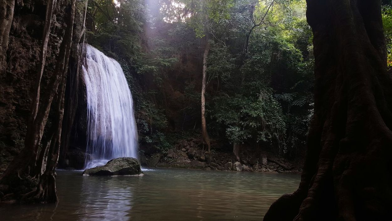 Waterfall Water River Nature Beauty In Nature Outdoors Forest No People Tree Day Holiday - Event Thailand Thailandtravel Thailand Nature