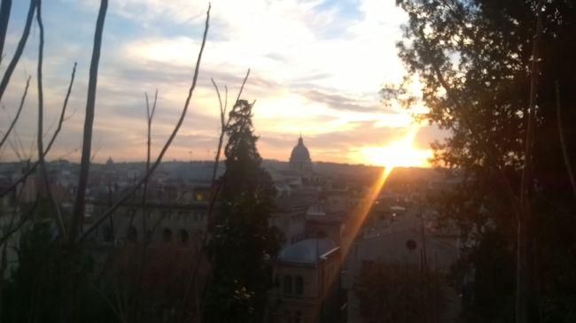 Atmosphere Bright Building Exterior Italia Italy Luce Outdoors Pincio Roma Rome Sunlight Sunset