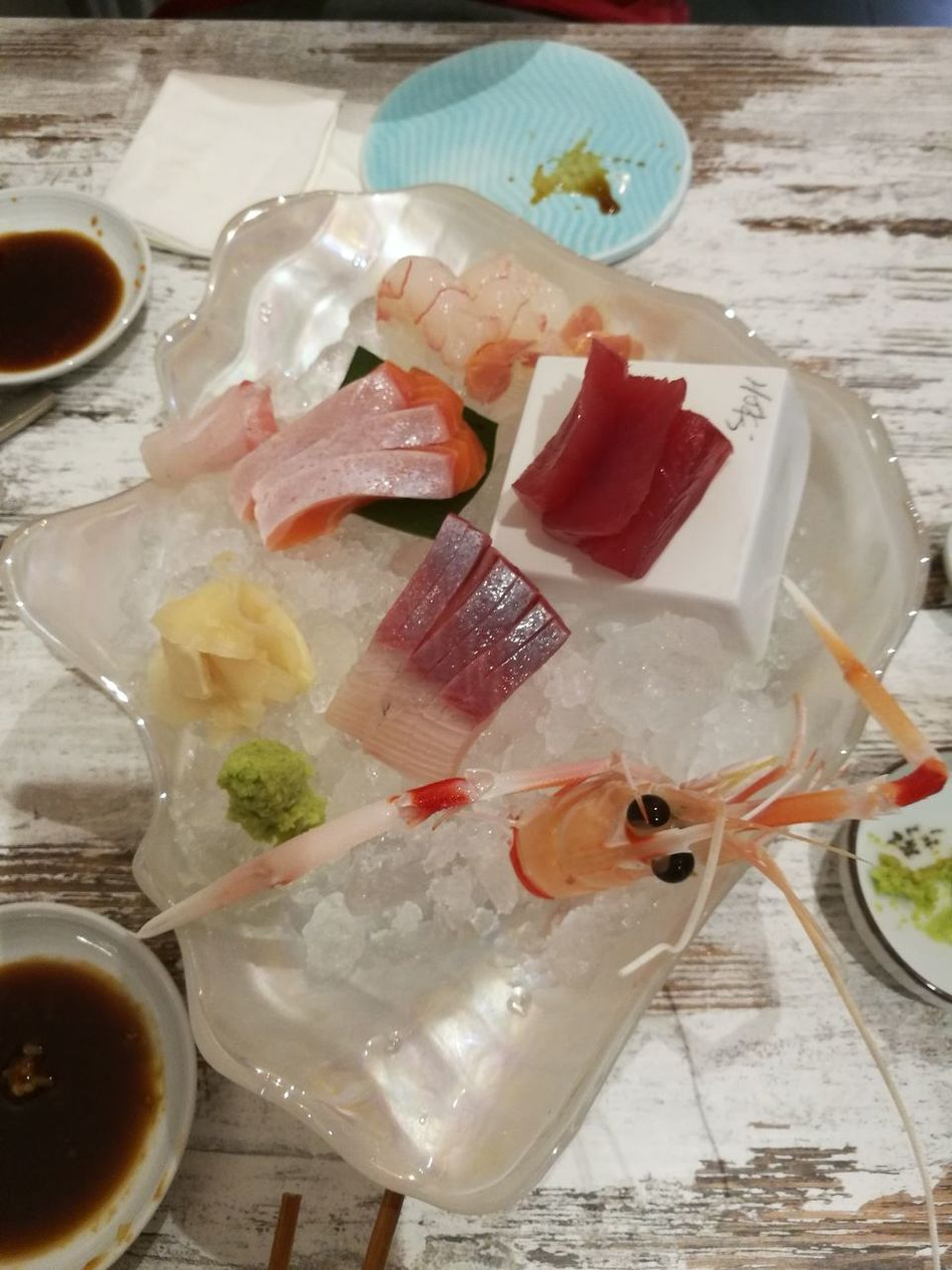 Sashimilovers Indoors  Freshness High Angle View Preparation  Food And Drink SLICE Healthy Eating No People Food Close-up Ready-to-eat Flavored Ice Day
