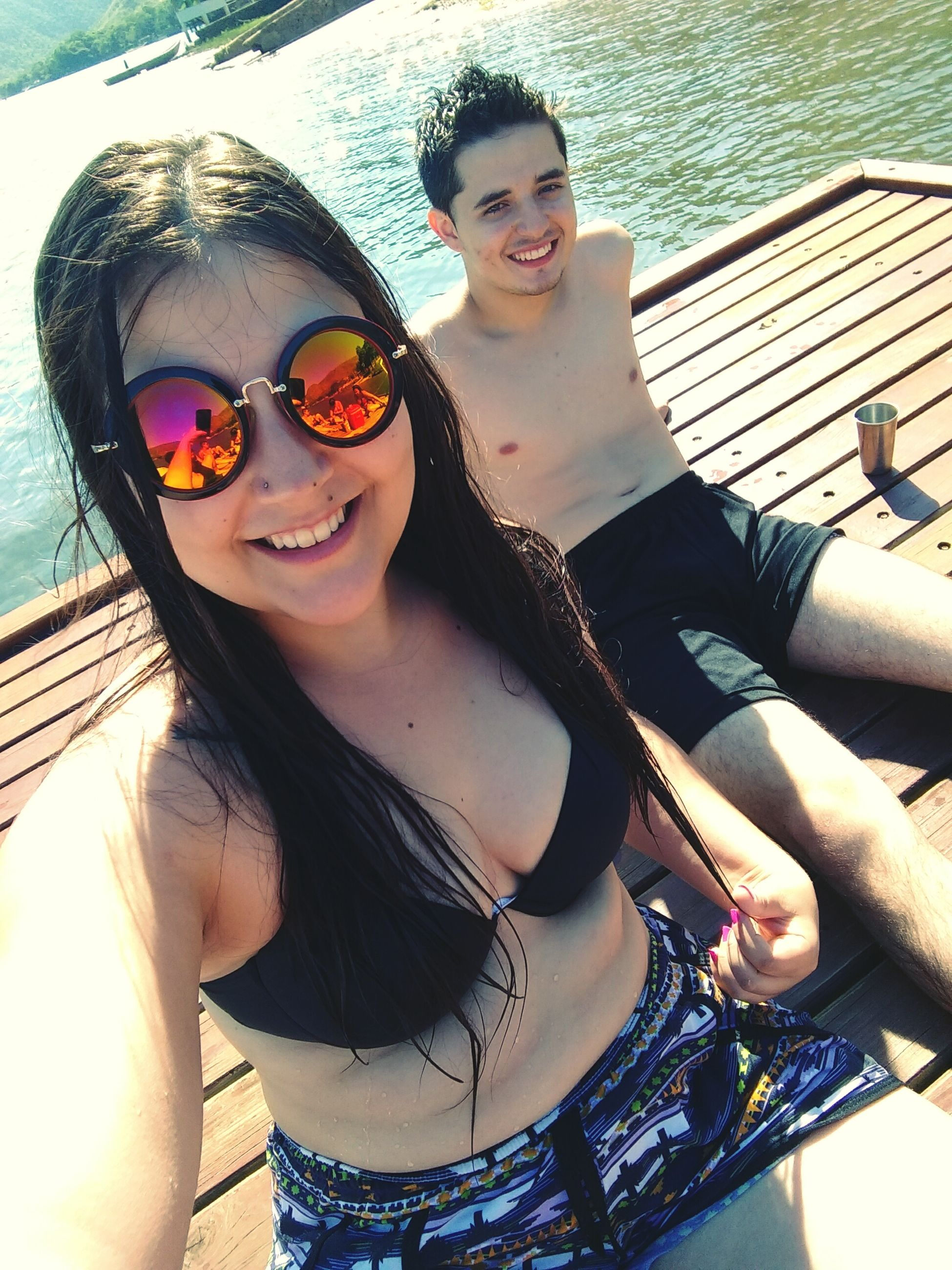 sunglasses, looking at camera, smiling, portrait, happiness, cheerful, selfie, togetherness, friendship, enjoyment, young adult, beautiful people, confidence, adults only, day, young women, people, adult, only women, outdoors, beautiful woman, beach, close-up