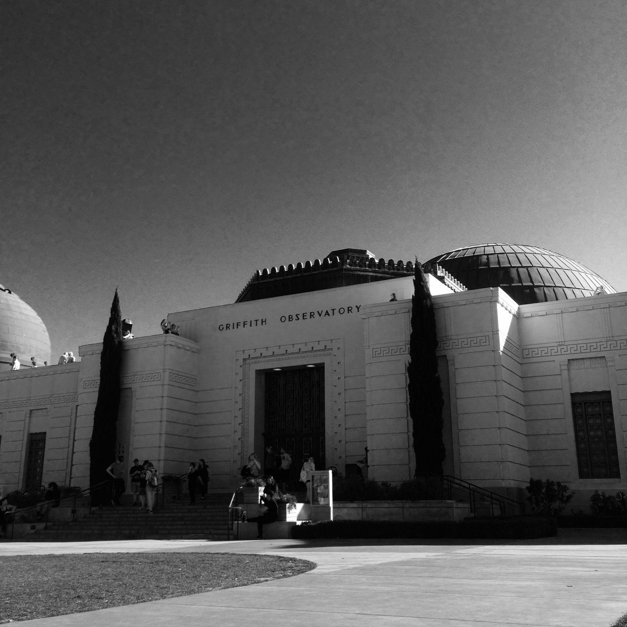 At the Griffith. Architecture Building Exterior Built Structure Los Angeles, California WestCoast Observatory