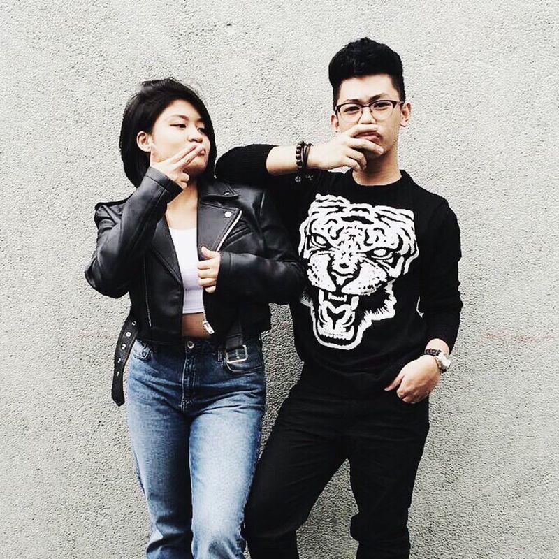Artist Blackandwhite Fashion Fashionable Fashionista Leatherjacket Neutral Portrait Punk Street Streetwear
