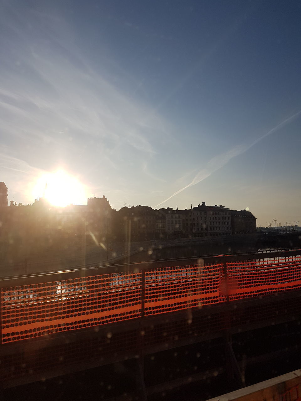 sunset, sun, sunlight, lens flare, no people, outdoors, sky, scenics, architecture, nature, day, city