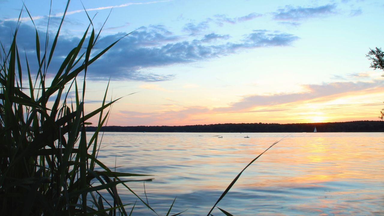 Sunset Summer Water Reflection LongTime