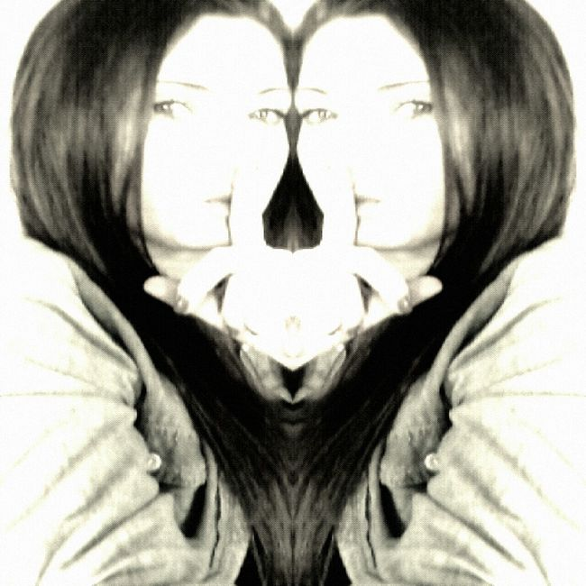Gemini~Twins Blackandwhite Taking Photos Mirror Selfie Selfportrait Photography Gemini Filthyfeeds Eye4photography  Jus Because  AMPt - Shoot Or Die What's Your Sign