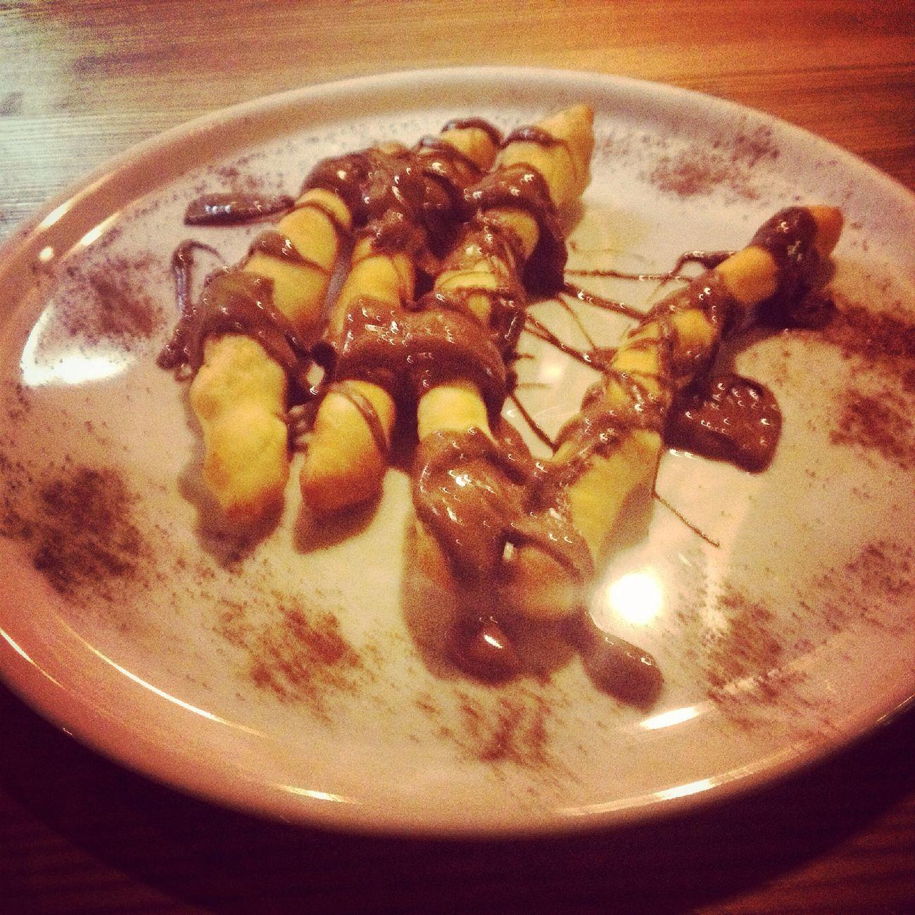 Nutella Dessert Straccetti Dolcé