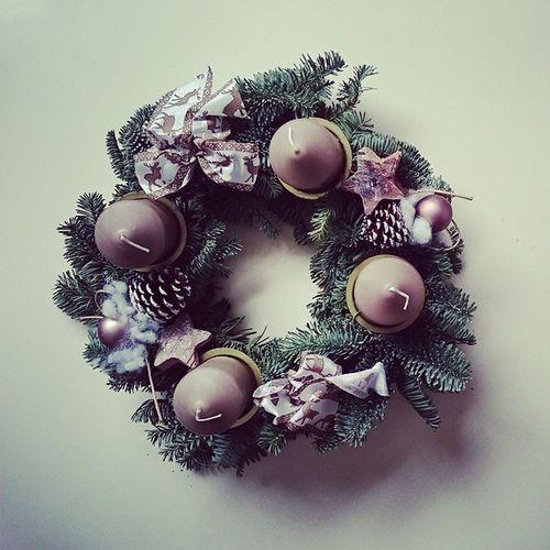 Bei uns Weihnachtet es schon Weihnachten2014 Advent Adventszeit adventskranz